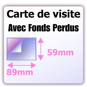 Le Format Standard Pour Imprimer Une Carte De Visite Est 55x85mm En Mode Portrait Ou Paysage Avec Les Fonds Perdus Merci Preparer Un Fichier 89x59mm