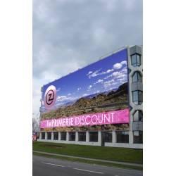 bache publicitaire grand format à Bordeaux