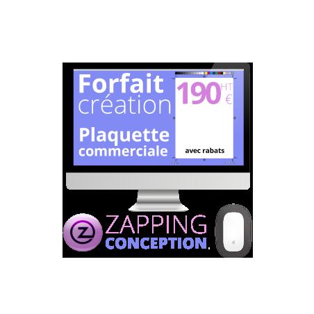 graphiste en ligne pour création plaquette publicitaire