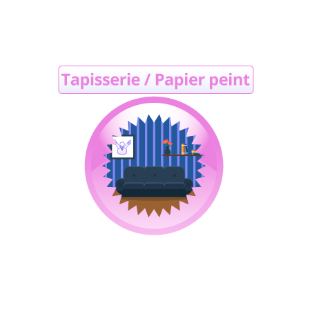 Impression papier peint personnalisé
