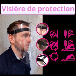 visière de protection sur internet à Bordeaux