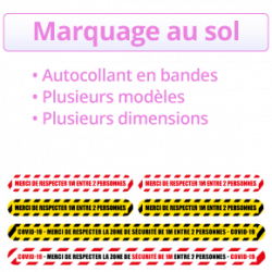 marquage au so COVID 19 - CORONAVIRUS