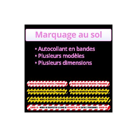 marquage au so COVID 19 - CORONAVIRUS