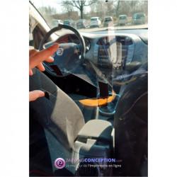 Paroi de protection pour véhicule VTC TAXI
