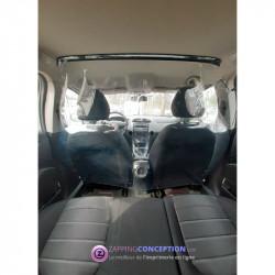 Protection plastique pour voiture entre client et chauffeur VTC TAXI