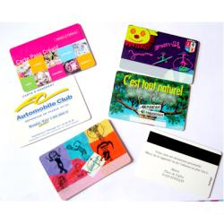 Limprimerie En Ligne ZappingConception Fabrique Vous Livre Dans Un Delai Express De 4 Jours Ouvres Des Cartes Visite Plastique PVC Imprimee