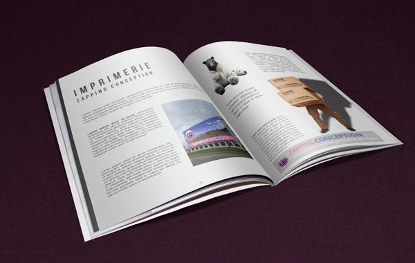 Impression de brochure a Bordeaux Livret et magazine